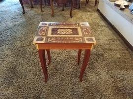 Italian made music box