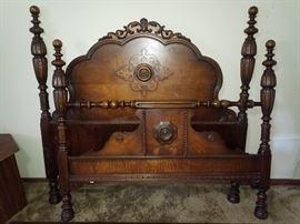 1920's antique bed