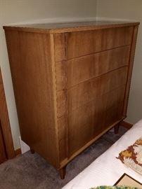 Tall vintage dresser