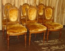 6 - Victorian Chairs