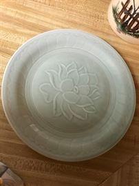 Jadeite Platters