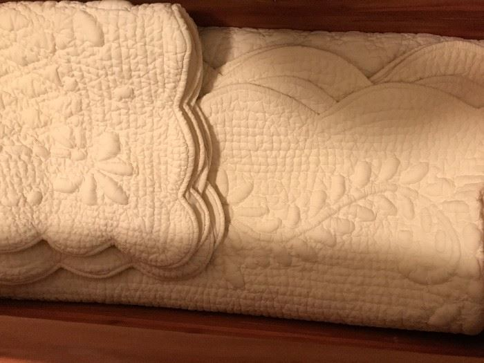 Quilted Bed Spread set
