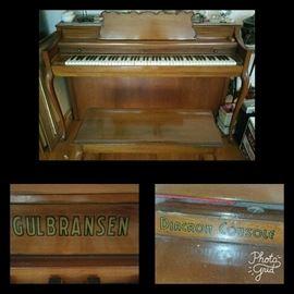 Gulbransen Diacron Console Piano