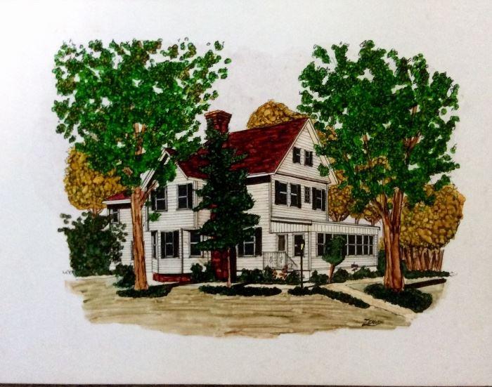 The blind mans cottage 1930