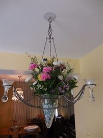Purchased in Door County, Floral Vase/ Candles Decorative