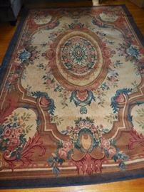 Vintage Wool Rug 11x 6.5 Colors