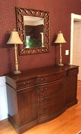 Matching sideboard with plenty of storage