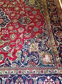 Stunning 9 feet 9 inches x 12 feet 8 inches Persian Tabriz rug