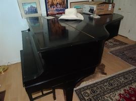 Steinway Model L 1926 Serial #254147 Purchased at Cunningham in Philadelphia