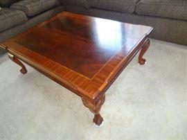 "Ethan Allen Coffee Table 48"" X 36"" X 17""H"
