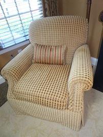 "Kravit Arm Chair Made in America 36""D X 33""H X 36""W"