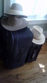 Luggage and hats