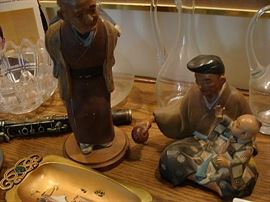 Japanese figurines
