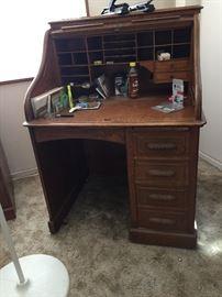 Small rolltop desk