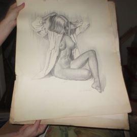 JAY SCOTT PIN UP GIRLS ART