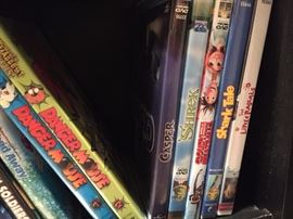 Disney ans Pixar DVD's