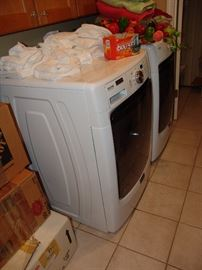 Matag front loading washer and dryer, like new