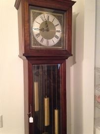 Grandfather clock from Western Germany - beautiful chimes