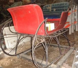 Antique sleigh