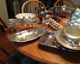 Numerous Pieces of Antique and Vintage Silver