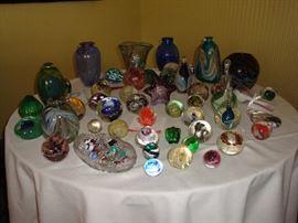 Unique Hand-Blown Glass Art~ by Local Artist Gary Rhiel (Elmore, Ohio)