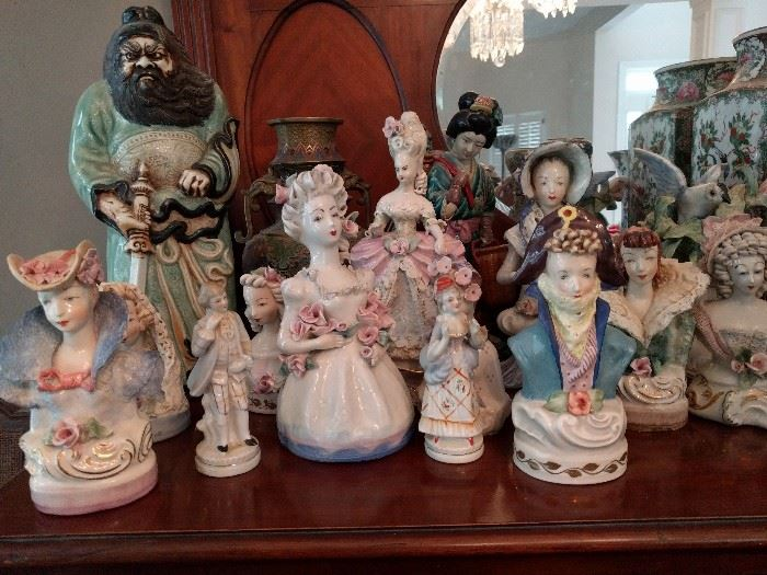 If you like Meemaw dust catchers, then come runnin'! There is quite a collection of these porcelain figurines and I'll be glad to see someone else appreciate them.    I don't.                                                                                   Just sayin'...