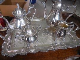 International Silver Co, Tea, Coffee Set
