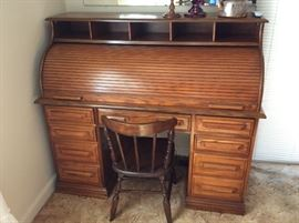 This roll top desk is a must see!  Outstanding!