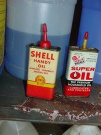 Mid Century Oil Cans