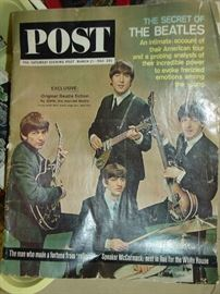 Vintage Post Magazine -Beatles Cover
