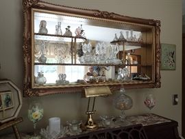 LARGE MIRRORED SHADOW BOX