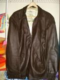 Men's Midwestern Brown Leather jacket, size 48
