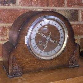 Antique Enfield Mantle Clock. Made in England