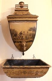 Antique French Wall Fountain