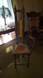 Hall prayer chair
