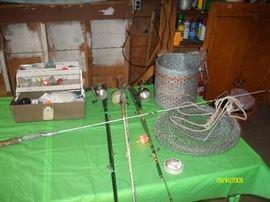 Misc. fishing gear