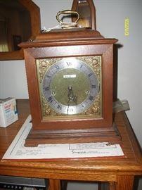 Seth Thomas clock (has key, needs work)