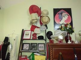 Women's Hats, Interior Decoration, Design