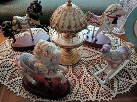 Decorative Carousel Horses