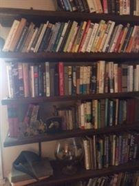 art books, nature books, history books, etc