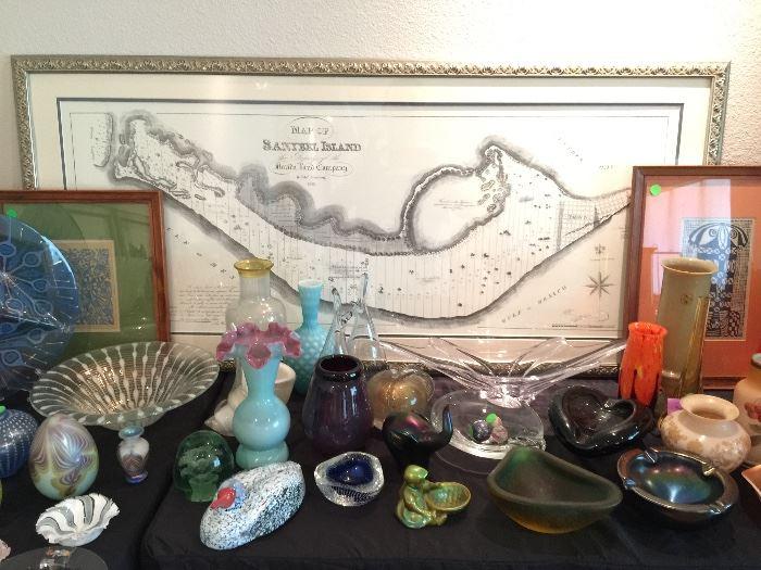 Beautiful Mid Century Art Pottery and Glass..