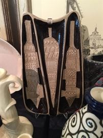 Great Collection of Mid Century Pottery.
