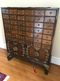 Antique Korean Apothecary Chest