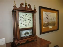 New England Clock Co., 8 Day Clock, Modified