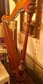 Wooden Faux Harp
