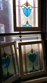 Old stained Windows