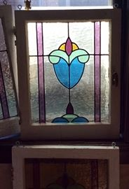 Old stained glass