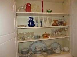 Some of misc glassware