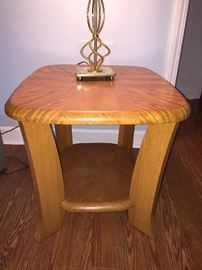 2 end tables (only 1 photographed)