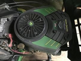 Inside Mower